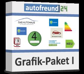 Grafik-Paket I für den Autohandel