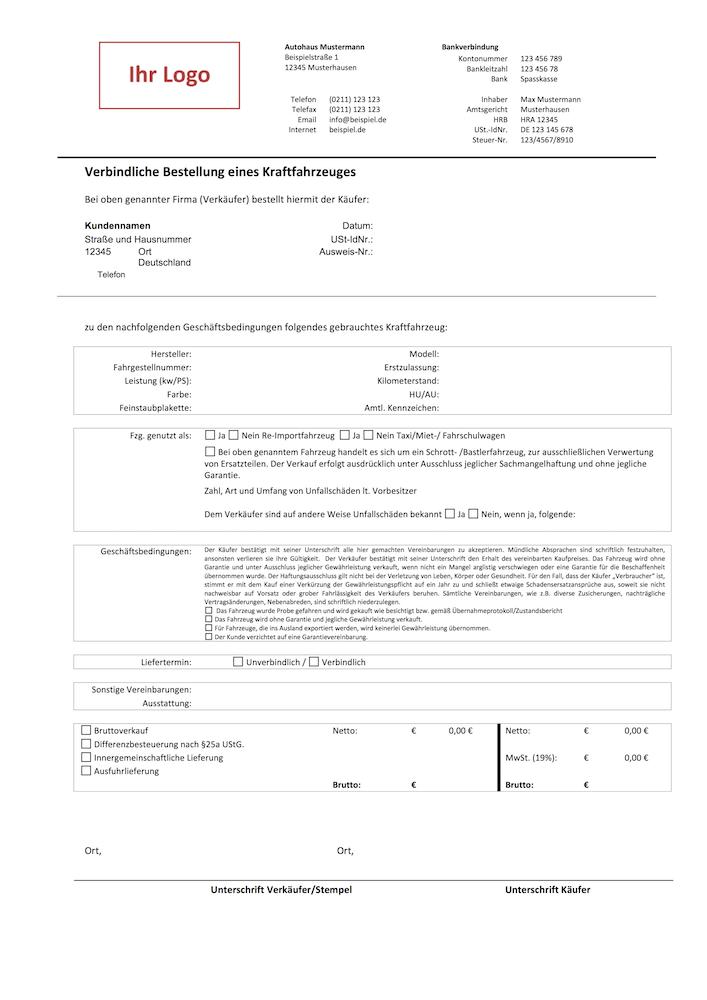 Autofreund24.de | Vorlagen für den Autohandel