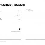 Kfz Preisschild Bologna Vorlage (Word)