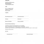 Probefahrtvereinbarung Mustertext (Word)