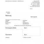 Rechnung steuerfreie Ausfuhrlieferung (Word)
